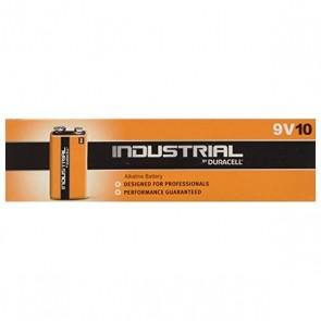 Batterie Alcaline DURACELL Industrial DURINDLR61C10 LR61 9V 550 mAh (10 pcs)