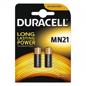Batterie Alcaline DURACELL Security DRB212 MN21 12V 1.5W (2 pcs)