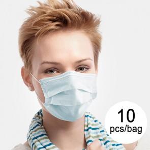 Mascherina Chirurgica Monouso a 3 Strati IIR JDM-001 (Pacco da 10 pz)