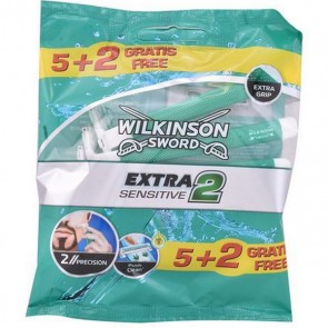 Rasoi Usa e Getta Extra2 Sensitive Wilkinson Sword (7 uds)