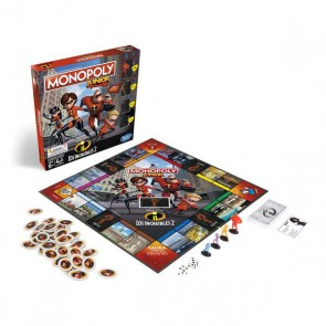 Monopoli Junior Gli Incredibili Hasbro