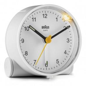 Orologio-Sveglia Analogico Braun BC-01-W Bianco