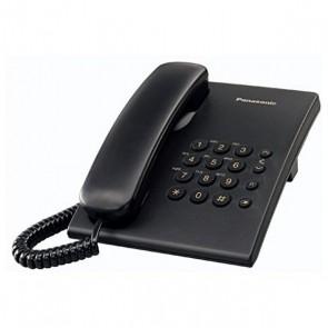 Telefono Fisso Panasonic KX-TS500EXB Nero