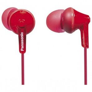 Auricolari Panasonic RP-HJE125E in-ear Rosso