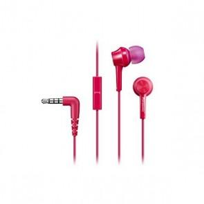 Auricolari con Microfono Panasonic RP-TCM105E in-ear Rosa
