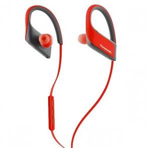 Auricolare Bluetooth Sportivo con Microfono Panasonic RP-BTS30E Rosso