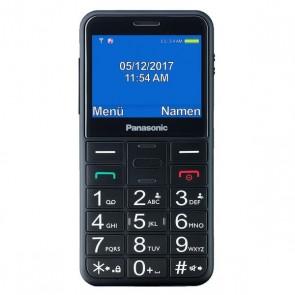 Cellulare per anziani Panasonic KX-TU150 TFT LCD Dual SIM Nero