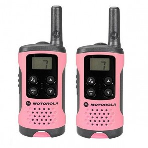 Walkie-Talkie Motorola TLKR T41 4 km LCD 16 h AAA Rosa