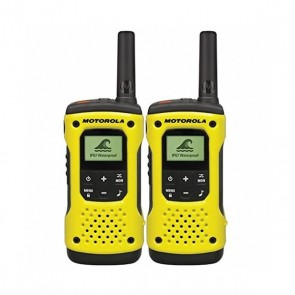 Walkie-Talkie Motorola T92H2O (2 Pcs) Giallo Nero