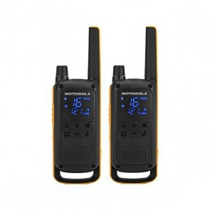 Walkie-Talkie Motorola T82 Extreme (2 Pcs) Nero Giallo