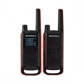 Walkie-Talkie Motorola T82 (2 Pcs) Nero Arancio