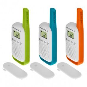 Walkie-Talkie Motorola T42 Multicolore (3 pcs)