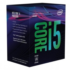 Processore Intel Core™ i5-8400 2,8 Ghz 9 MB LGA 1151 BOX