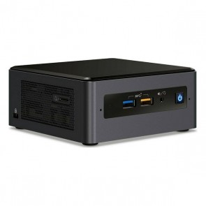 Mini PC Intel NUC10i7FNH2 i7-10710U LAN WiFi Bluetooth Nero