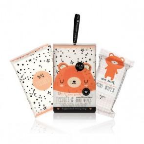 Set per la Cura Personale Tissues & Mini Wipes Soko Ready (20 uds)