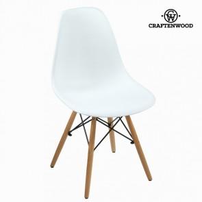 Sedia da Sala da Pranzo ABS Bianco by Craftenwood