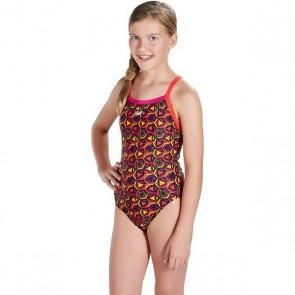 Costume da Bagno per Bambini Speedo Pattern Pop Allover Thinstrap Cu imprimeuri (Taglia 10-12 anni)