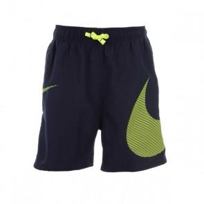 Costume da Bagno per Bambini Nike 4 Volley Short Verde Nero
