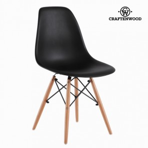 Sedia da Sala da Pranzo ABS Nero by Craftenwood