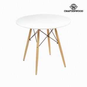 Tavolo Mdf Legno di faggio Bianco (80 x 80 x 75 cm) by Craftenwood