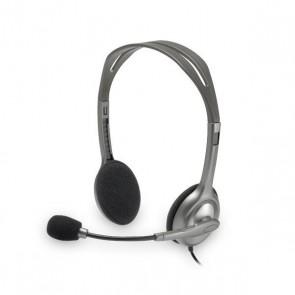 Auricolari con Microfono Logitech H110 2 x Jack 1,4 m