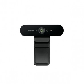 Webcam Logitech BRIO 4K Ultra HD RightLight 3 HDR Zoom 5x Streaming Infrarossi Nero
