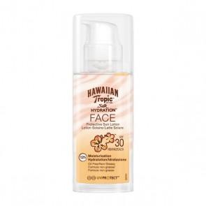 Lozione Solare Silk Face Hawaiian Tropic Spf 30 (50 ml)