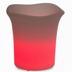 Vaso con luce per esterno by Homania