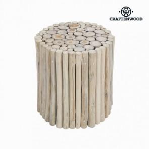 Sgabello Tronco Craftenwood (40 x 40 x 40 cm) Legno - Autumn Collezione