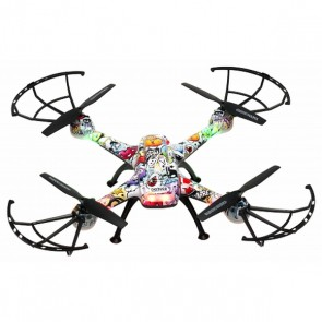 Drone Denver Electronics DCH-460 0,3 MP 2.4 GHz 650 mAh Multicolore