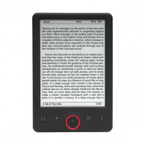 "eBook Denver Electronics EBO-620 6"" 4 GB Nero"