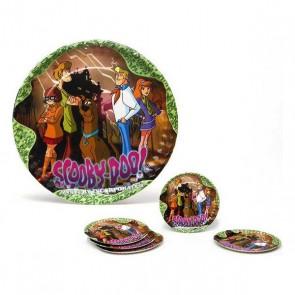 Set di 5 Piatti Scooby-Doo Cartone