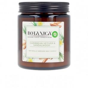 Candela Profumata Botanica Caribbean Vetiver & Sandalwood Air Wick (205 g)