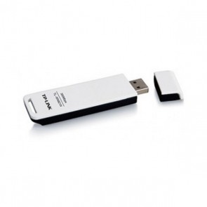 Adattatore Wi-Fi TP-Link TL-WN821N 300 Mbps WPS Bianco
