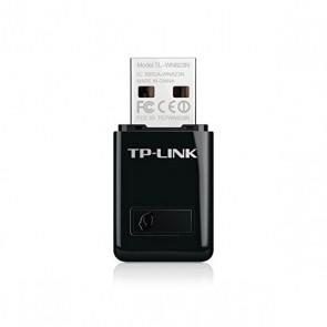 Adattatore Wi-Fi TP-LINK Mini TL-WN823N 300N 2.4 GHz QSS USB Nero