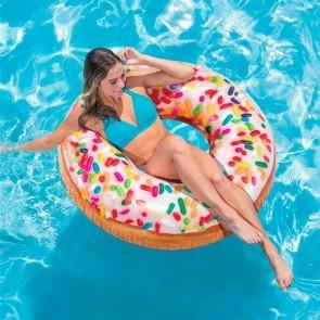 Galleggiante Intex Donuts (114 Cm)