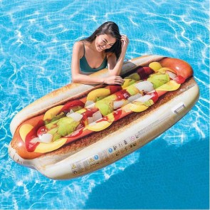 Materassino Gonfiabile Intex Hot dog (180 X 89 cm)