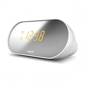Radio-Orologio Philips AJ2000/12 LED FM Bianco