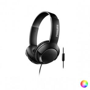 Auricolari con Microfono Philips SHL3075/10 BASS+ 40 mW (3.5 mm)