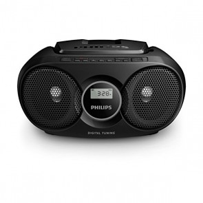 Radio CD Philips AZ318B/12 FM 3W Nero