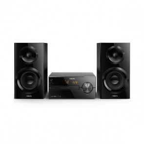 Mini impianto Stereo Philips BTM2560/12 USB Bluetooth FM 70W Nero