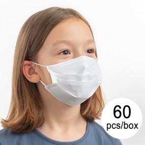 Mascherina Monouso a 3 Strati JS Taglia M (Pacco da 60 pz) Macherina Protezione Bambini