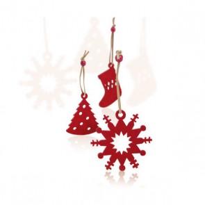 Set di Addobbi di Natale (9 pcs) 143421