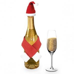 Set Addobbi Babbo Natale per Bottiglie (2 pcs) 144261