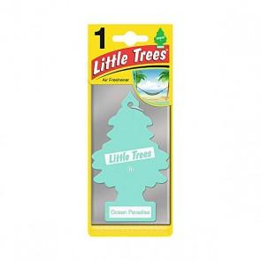 Deodorante per la Macchina Little Trees Ocean Paradise Pino