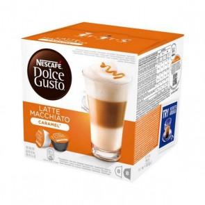 Capsule di caffè Nescafé Dolce Gusto 24191 Latte Macchiato (16 uds) Caramello