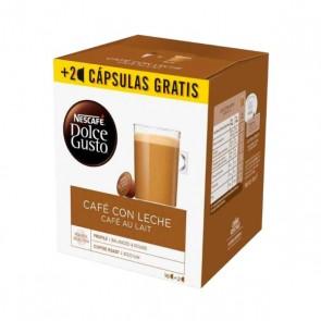 Capsule di caffè Nescafé Dolce Gusto Cafe au lait (18 Uds)