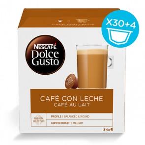 Capsule di caffè Nescafé Dolce Gusto (34 uds) Cafe au lait