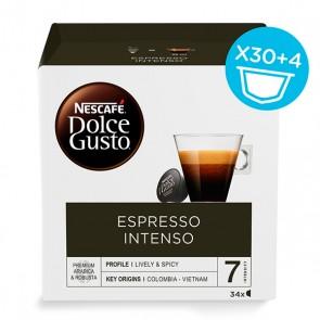 Capsule di caffè Nescafé Dolce Gusto (34 uds) Espresso intenso