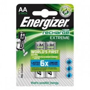 Batterie Ricaricabili Energizer HR6 BL2 2300mAh (2 pcs)